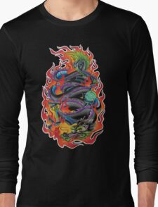 Fire Dragon Long Sleeve T-Shirt