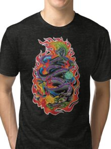 Fire Dragon Tri-blend T-Shirt