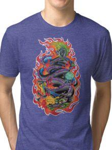 Fire Dragon Tri-blend T-Shirt