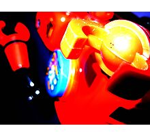 robot surprise attack Photographic Print