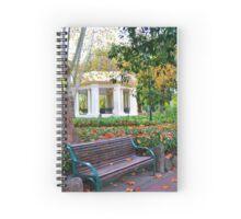 City Bench Notebook Spiral Notebook