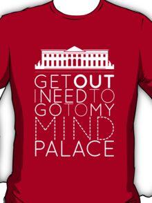 Sherlock - I Need to Go to my Mind Palace T-Shirt