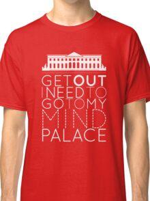 Sherlock - I Need to Go to my Mind Palace Classic T-Shirt