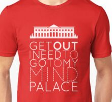 Sherlock - I Need to Go to my Mind Palace Unisex T-Shirt
