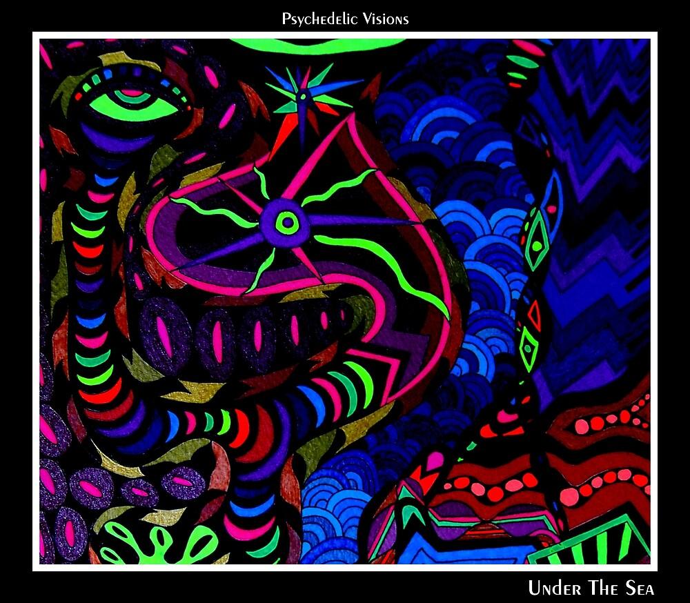 Under The Sea Black Ligth by MonicaDias