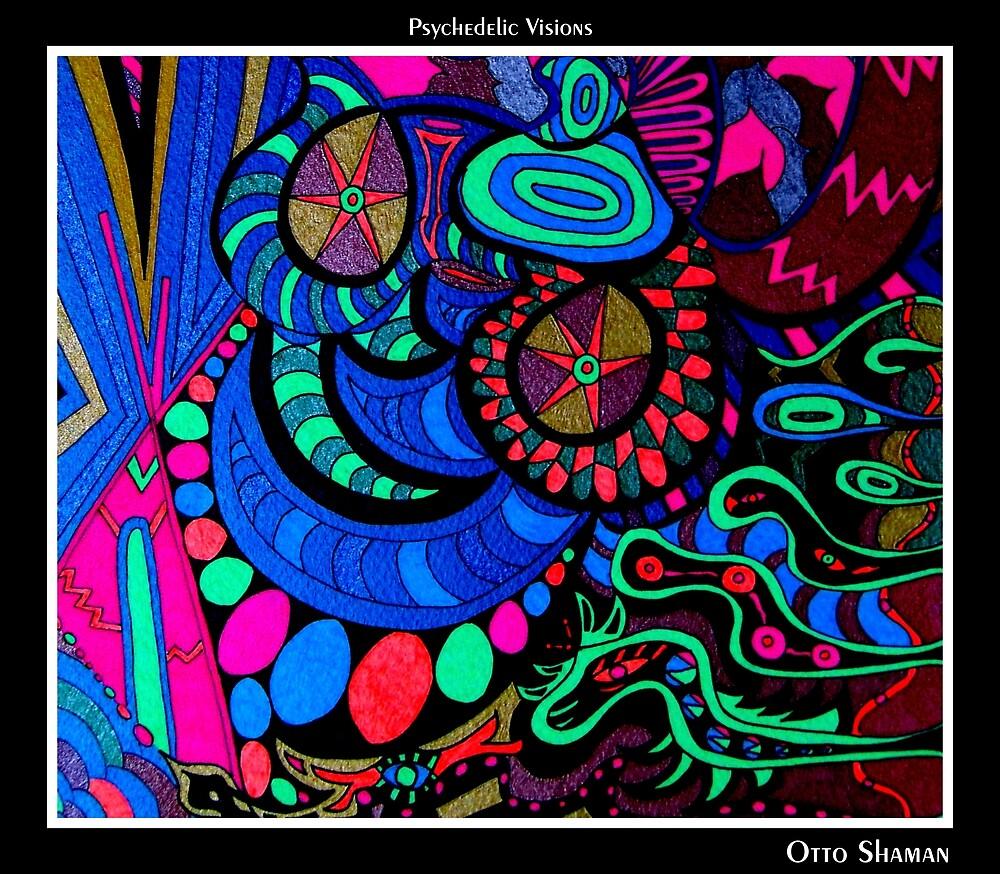 Otto Shaman Black Ligth by MonicaDias