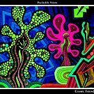 Cosmic Friends Black Ligth by MonicaDias