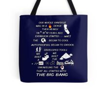 BIG BANG THEORY THEME SONG Tote Bag