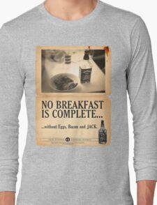 A Jack Daniel's Breakfast Long Sleeve T-Shirt