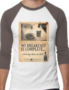 A Jack Daniel's Breakfast Men's Baseball ¾ T-Shirt