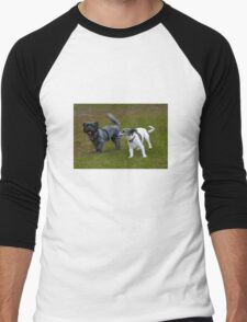Who Let the Dogs Out? Men's Baseball ¾ T-Shirt