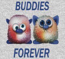 Buddies Forever .. Tee Shirt T-Shirt