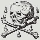 Skull & Crossbones by electrasteph