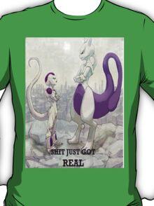 Mewtwo vs Frieza T-Shirt