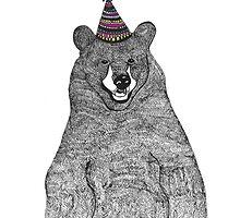 Party Bear by fredandelsie
