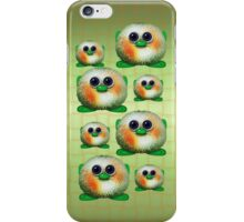 Green Fuzzy Aliens .. iPhone case iPhone Case/Skin