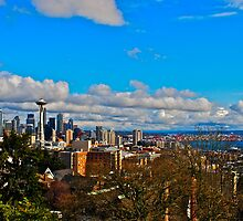Seattle Skyline by bamorris