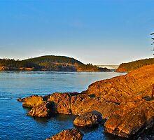 Sunset rocks by bamorris