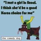 Korea choice for me [Black writing] by Smowens