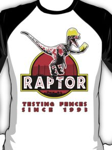 Raptor. In light and stickers since 1993. T-Shirt