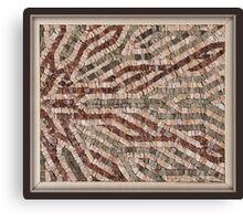 Stone Mosaic Canvas Print
