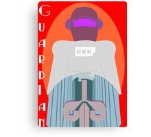 Guardian - Robot Protector Canvas Print