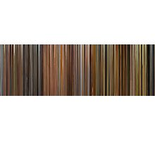 Moviebarcode: The Complete Wes Anderson (1994-2012) Photographic Print