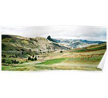 Ecuador highlands Poster
