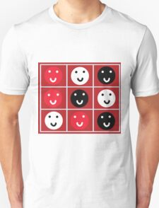 Smile Grid T-Shirt