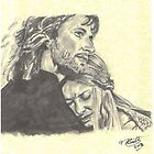 Faramir & Eowyn by Tony Heath