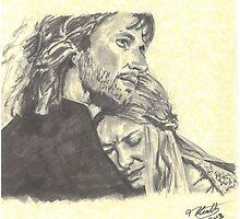 Faramir & Eowyn by tonito21