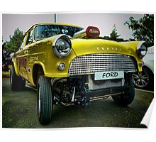 Customised Ford Consul Poster
