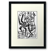 063 Framed Print