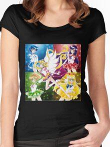 Eternal Inner Senshi Women's Fitted Scoop T-Shirt