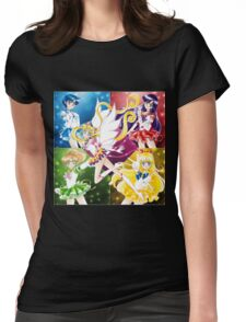 Eternal Inner Senshi Womens Fitted T-Shirt
