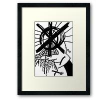 065 Framed Print