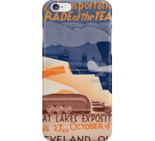 Vintage poster - Great Lakes Exposition iPhone Case/Skin