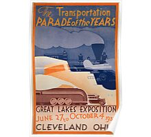 Vintage poster - Great Lakes Exposition Poster