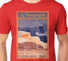 Vintage poster - Great Lakes Exposition Unisex T-Shirt