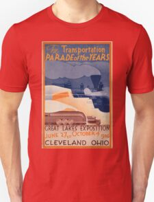 Vintage poster - Great Lakes Exposition T-Shirt