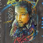 Portrait by C215 by Respire