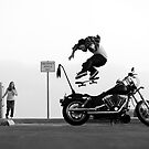 Motorcycle Kickflip by foremanphotos