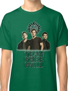 Supernatural: Team Free Will Classic T-Shirt