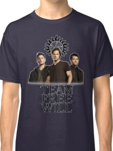 Supernatural: Team Free Will Classic T-Shirt