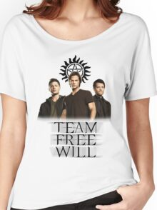 Supernatural: Team Free Will Women's Relaxed Fit T-Shirt