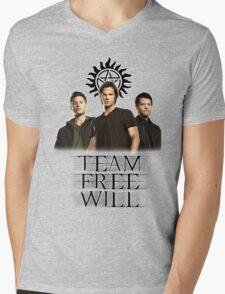 Supernatural: Team Free Will Mens V-Neck T-Shirt