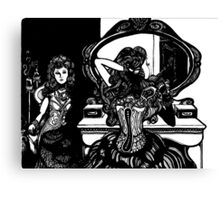 Kate Opposite the Vanity- By: Carrie White Canvas Print