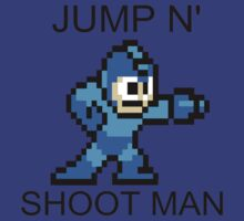 Jump N Shoot Man by LuzzyLiz