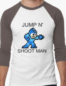 Jump N Shoot Man Men's Baseball ¾ T-Shirt
