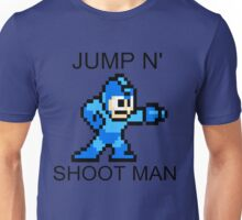 Jump N Shoot Man Unisex T-Shirt